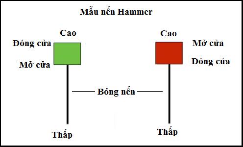 Mẫu nến Hammer