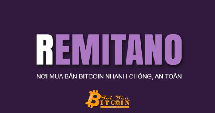 Hướng dẫn mua bán coin trên Remitano