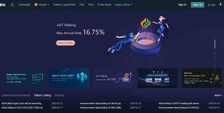 BW là gì? Thông tin cần biết về sàn giao dịch tiền điện tử bw.com