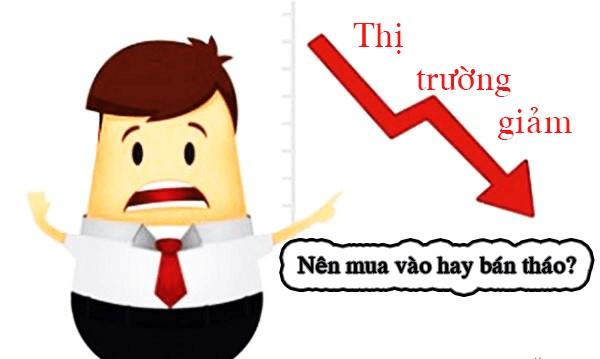 Thị trường giảm mạnh, nên mua vào hay bán tháo?