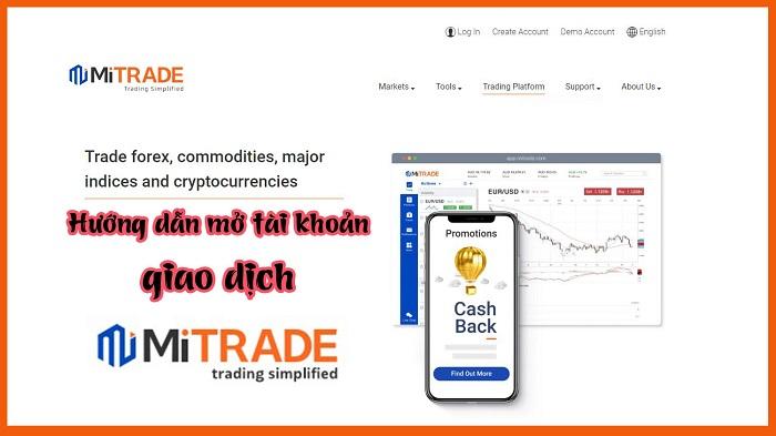 Hướng dẫn đăng ký và xác minh sàn Mitrade.com